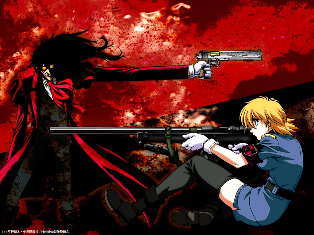 Alucard hellsing wallpaper 3464477 fanpop - Anime hellsing wallpaper ...