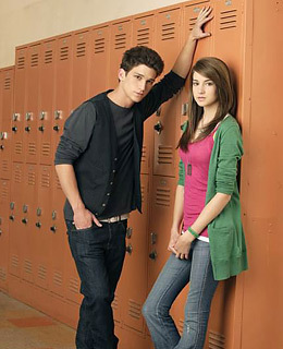 The Secret Life of the American Teenager wallpaper containing a packing box and a sign called amy and ricky