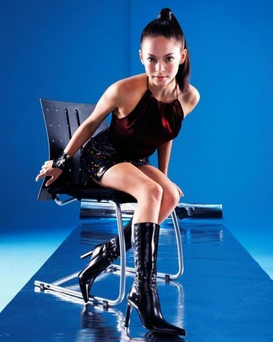 Kristin Kreuk wallpaper probably with a leotard and tights entitled kristin