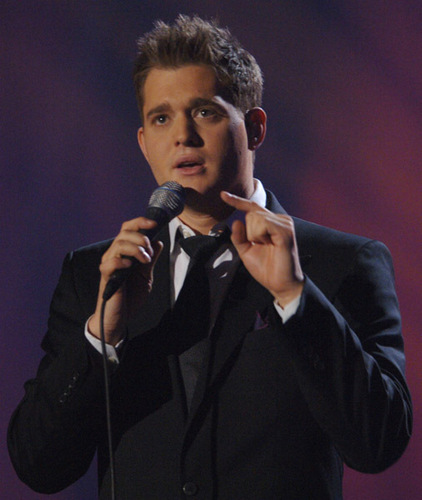 Michael Bublé wallpaper possibly with a business suit and a concert titled michael bublé