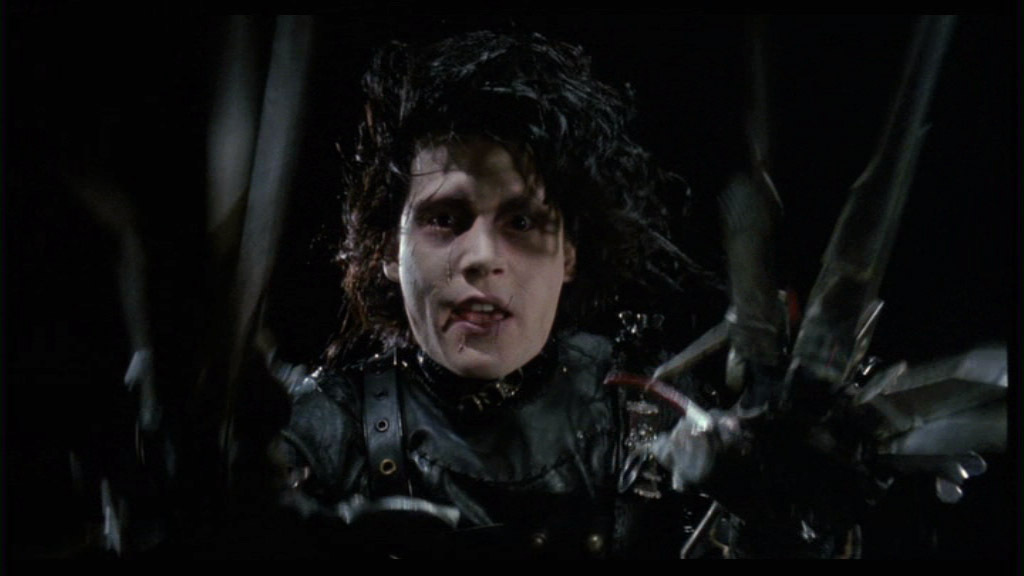 edward scissorhands film Extracts from this document introduction edward scissorhands - use of allusion and symbolism nothing just happens in film directors all make certain choices in.