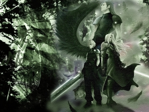 Final Fantasy wallpaper possibly with a banana entitled sephiroth