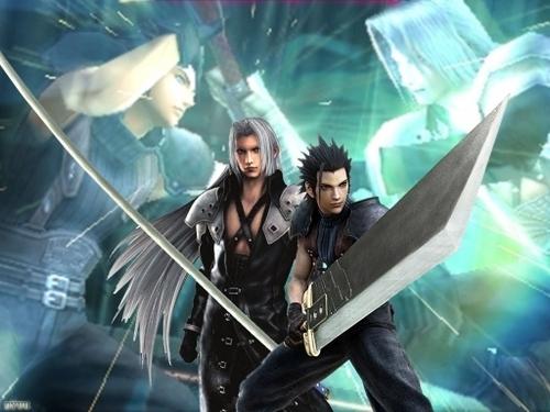 Final Fantasy Hintergrund entitled sephiroth