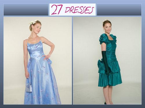 27 Dresses پیپر وال