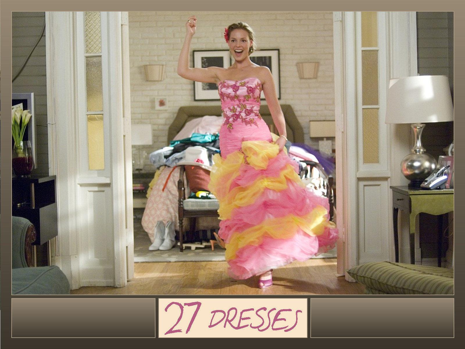 27 Dresses wallpaper