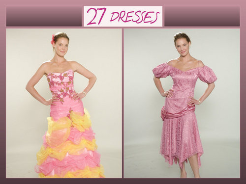 27 Dresses wallpaper
