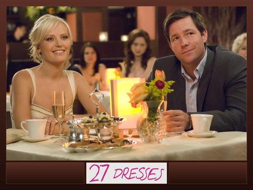 27 Dresses 壁紙