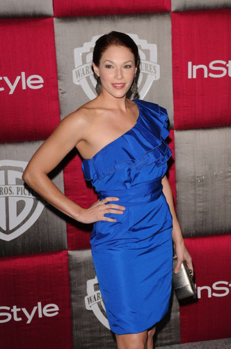 Amanda at Globes after party