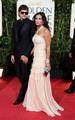 Ashton @ 2009 Golden Globe Awards