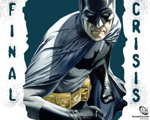 Batman cover for final crisis #6