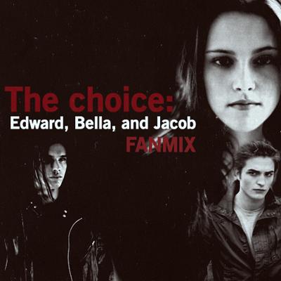 Bella, Edward, and Jacob