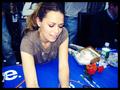 Bethany JOY Galeotti signing autographs