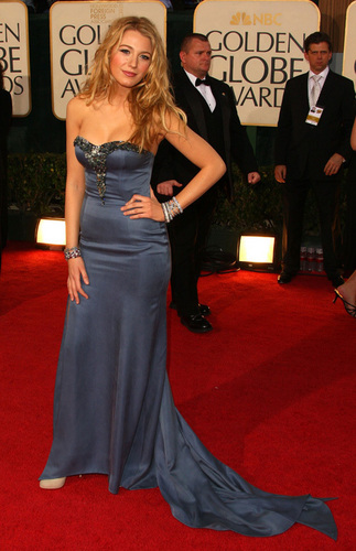 Blake at Golden Globes