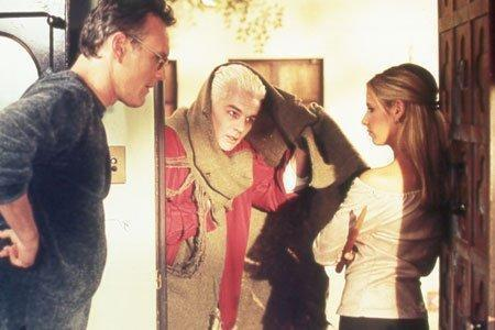 Buffy, Spike, and Giles