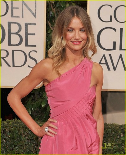 Cameron @ 2009 Golden Globe Awards