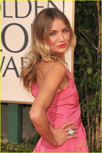 Cameron @ 2009 Golden Globe Awards