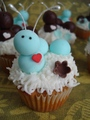 Catepillar - cupcakes photo
