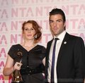 Catherine and Zachary Quinto