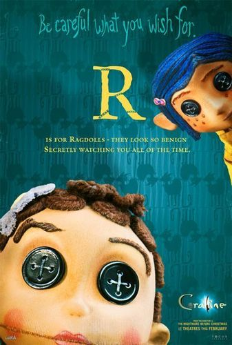 Coraline پیپر وال with a portrait titled Coraline