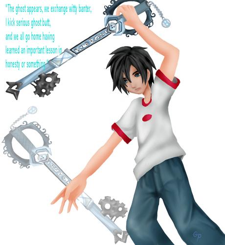 Danny's keyblade