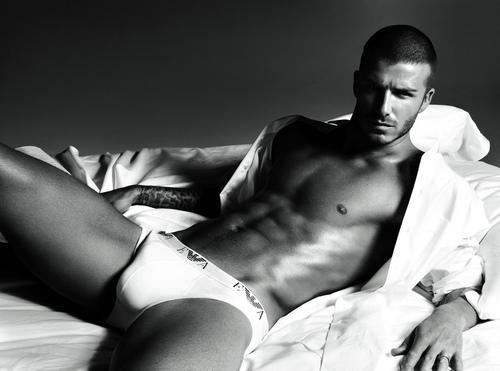 David Beckham emporio armani