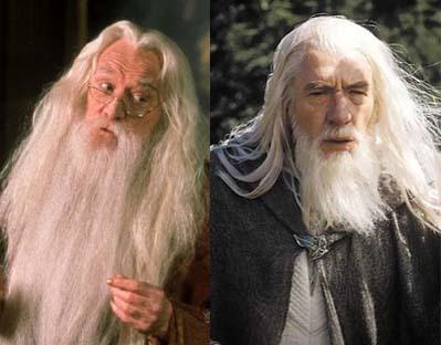 Dumbledore and Gandalf