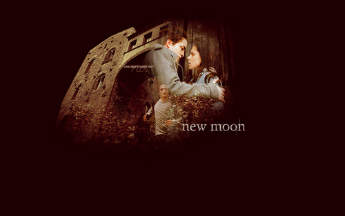 Edward & Bella [New Moon] Wallpaper
