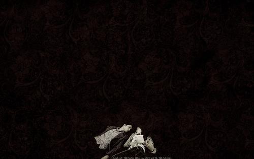 Edward & Bella kertas dinding