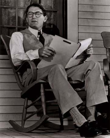 Gregory Peck 바탕화면 with a rocking chair entitled Gregory Peck