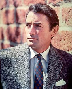 Gregory Peck Обои containing a business suit, a suit, and a two piece titled Gregory Peck