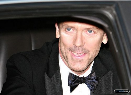 HL Leaving the Golden Globe Awards