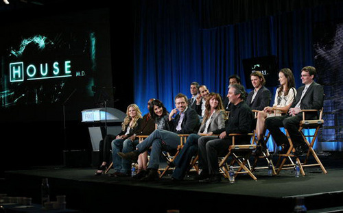 House cast at TCA 2009