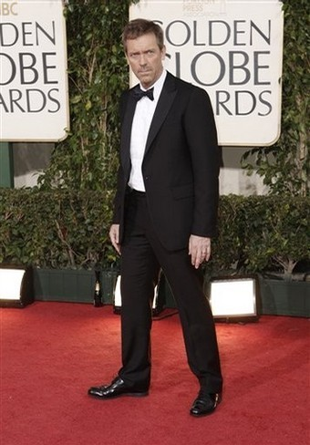 Hugh Laurie @ the 66th Annual Golden Globes