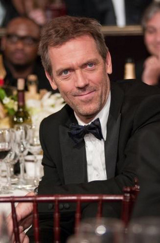 Hugh at GG awards