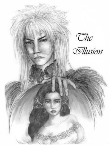 Jareth 壁纸 probably with a portrait called Illusion