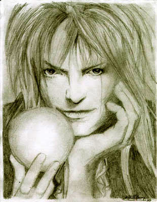 Labyrinth wallpaper titled Jareth