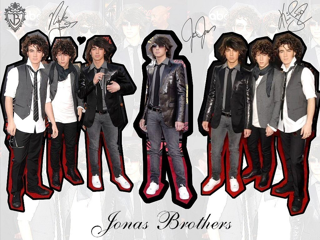 Jonas Wallpapers - The Jonas Brothers 1024x768 800x600