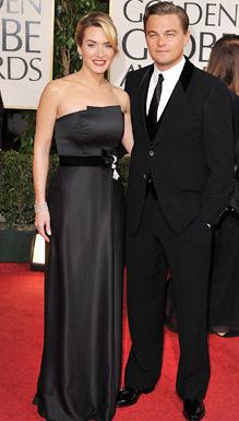Kate & Leonardo @ The 2009 Golden Globe Awards