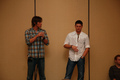 L.A. Supernatural Creation Convention 2008 - jared-padalecki-and-jensen-ackles photo