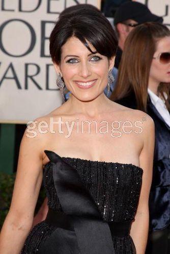 Lisa Edelstein @ The 66th Annual Golden Globe Awards - Arrivals