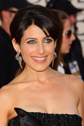 Lisa Edelstein at 66th Annual Golden Globe Awards