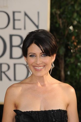 Lisa Edelstein at Golden Globes