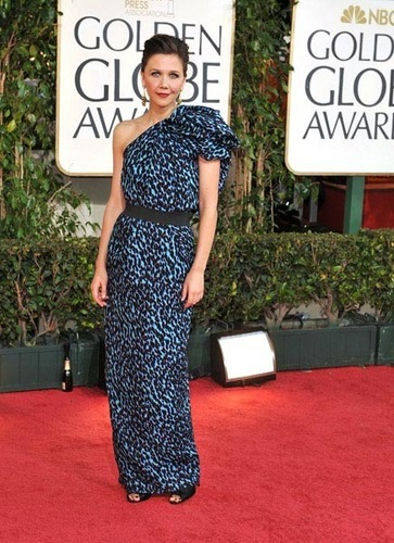 Maggie @ 2009 Golden Globe Awards