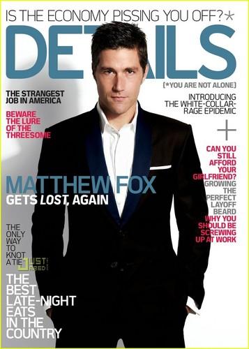 Matthew Fox  (Details Magazine)