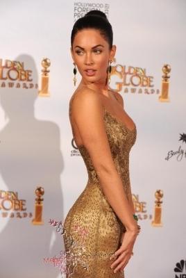 Megan @ 2009 Golden Globe Awards