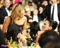 Megan & Hayden @ 2009 Golden Globes - Inside