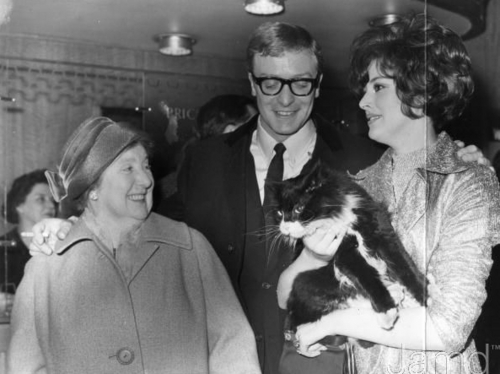 Michael Caine, His Mother and Sue Lloyd