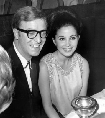 Michael Caine and Barbara Parkins