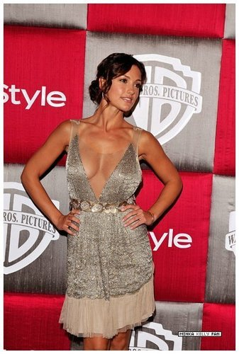 Minka at Golden Globes after party