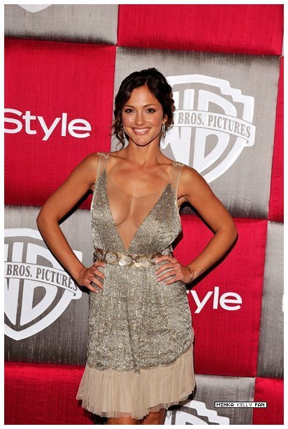 Minka at Golden Globes after party - Minka Kelly 412x612